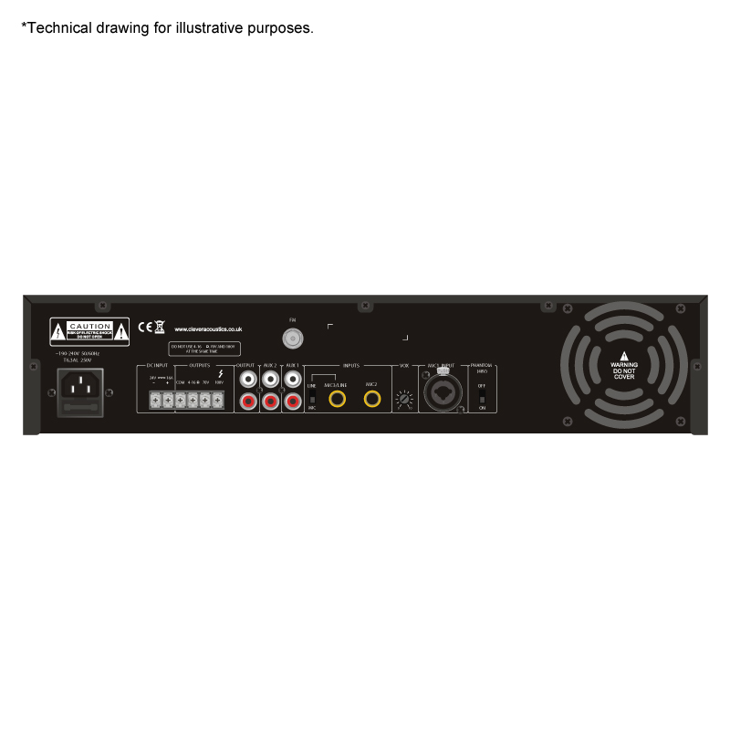 clever acoustics ma 2240mp 240w mixer amplifier with mp3 fm sound amplifiers clever. Black Bedroom Furniture Sets. Home Design Ideas